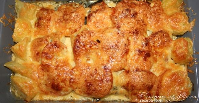 Форель запечённая с сыром рецепт