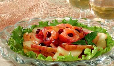 Салат с форелью рецепт
