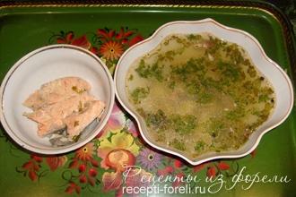 рецепт рыбного супа из голов с картофелем